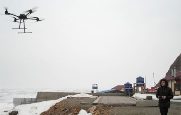 Russian drones will monitor the Arctic.