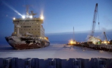 The density of cargo traffic at the Northern Sea Route will reach 65 million tons by 2020