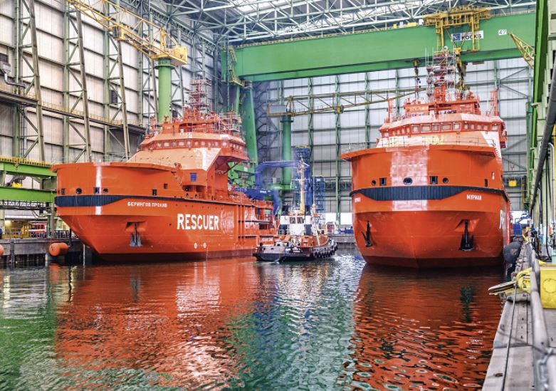 New SAR vessels for the Russian Arctic